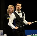 Michael Holt and Maike Kesseler at Snooker German Masters (DerHexer) 2015-02-04 01.jpg