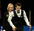Michael Holt and Maike Kesseler at Snooker German Masters (DerHexer) 2015-02-04 03.jpg