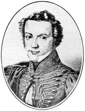 Michael Beer (poet) - Michael Beer (c. 1830, artist unknown)