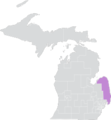 Michigan Senate District 25 (2010).png