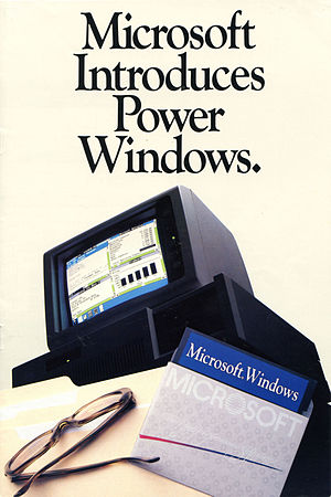 Windows 1.0 - A Microsoft Windows 1.0 brochure published in January 1986