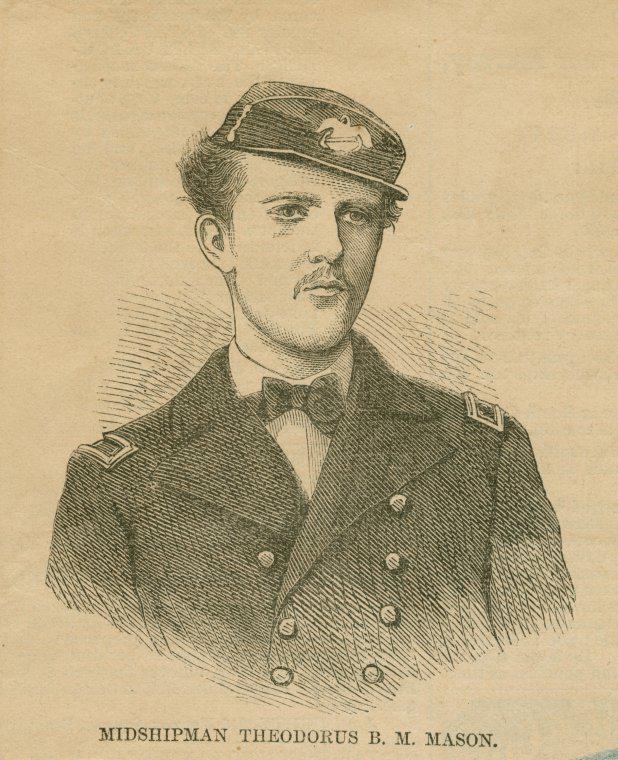 Midshipman Theodorus B M Mason