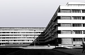 Mihailo Čanak - Housing and auxiliary buildings in block 21, New Belgrade, 1961-1963 (L.Lenarcic, M.Mitic, I.Petrovic and M.Canak)