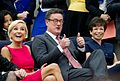 Mika Brzezinski, Joe Scarborough, and Valerie Jarrett at White House Forum on Women and the Economy.jpg