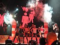 Miley Cyrus during Wonder World Tour concert in Nashville.jpg
