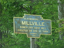 Official logo of Millville, Pennsylvania