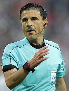 Milorad Mažić Serbian international association football referee