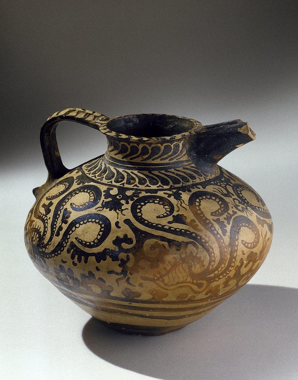 Minoan Decorated Jug, ca. 1575-1500 B.C.E. 37.13E