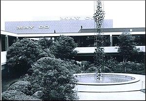 Westfield Mission Valley - Center Courtyard at Mission Valley Center, 1961