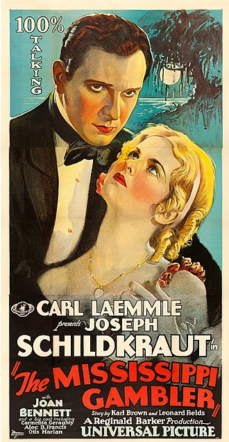 The Mississippi Gambler (1929 film) - Theatrical poster