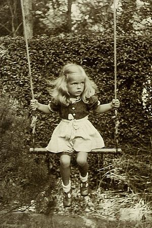 Swing (seat) - Girl on swing