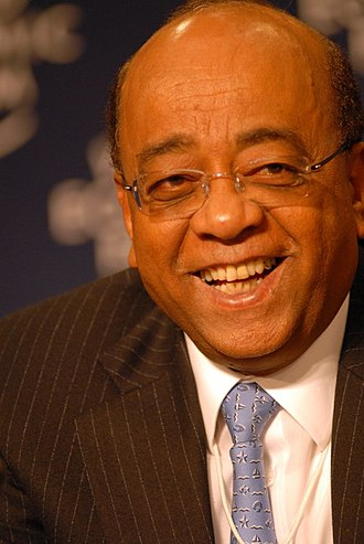 Mohammed Ibrahim (businessman) - Ibrahim at the 2007 World Economic Forum on Africa in Cape Town