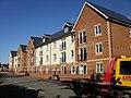 Modern flats, Tregwilym Road, Rogerstone - geograph.org.uk - 1608218.jpg