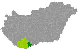 mohács térkép Kreis Mohács – Wikipedia