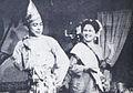 Moh Mochtar and Nana Mayo in Djaja Merana Dunia Film 15 Aug 1954 p4.jpg