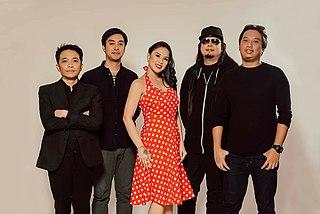 MOJOFLY Filipino pop-rock band