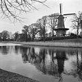 Molen van Piet Grote Kerk vanaf zuidzijde - Alkmaar - 20005596 - RCE.jpg