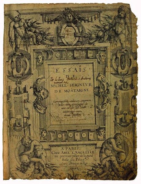 File:Montaigne - Essais, Éd de Bordeaux, 1.djvu
