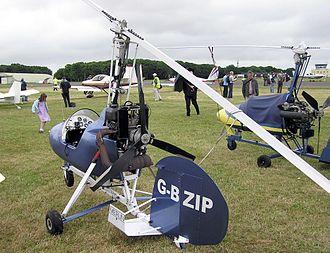 Autogyro - Montgomerie Merlin single-seat autogyro