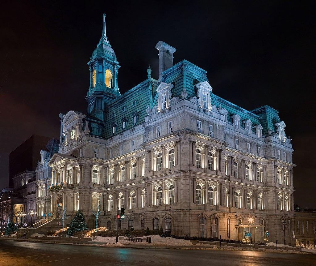 Hôtel de Ville de Montréal. (définition réelle 6400×5378 *)