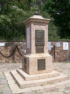 San Pedro, Buenos Aires - Battle of Vuelta de Obligado memorial.