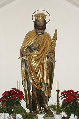 Castulus - St. Castulus statue at Moosburg