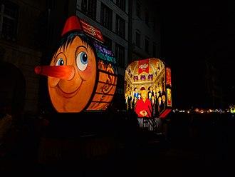 Carnival of Basel - Morgestraich - Basler Fasnacht 2018