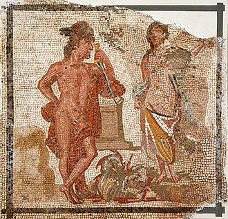 National Archaeological Museum of Tarragona - Image: Mosaic de la Medusa 1