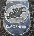 Mosaikwappen UEFA 2008 in Klagenfurt, Kärnten, Österreich.jpg