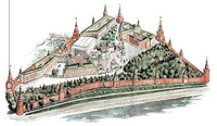 Moscow Kremlin map - Borovitskaya Tower.png