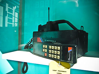 Total Access Communication System - First-generation Motorola 4500X mobile phone, which utilised ETACS