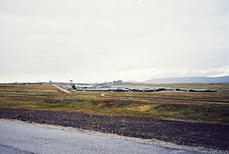 Timeline of the history of the Falkland Islands - RAF Mount Pleasant