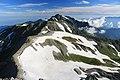 Mount Masago and Mount Tsurugi from Fujinooritate.jpg