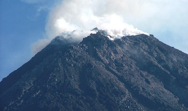 File:Mount Merapi Crater.jpg