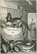 Frontispiece of Rundell's cookbook