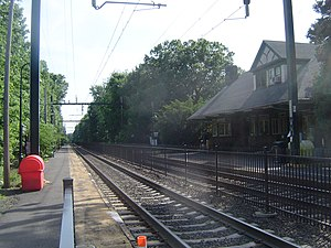Upper Montclair, New Jersey -  Mountain Avenue station