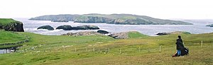 Muckle Flaes and Vaila from Culswick.jpg