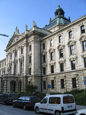 Belzec trial - Image: Muenchen Justizpalast 3 Bubo