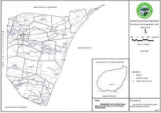 San Jose, Camarines Sur - This is the municipal base map of the Municipality of San Jose.