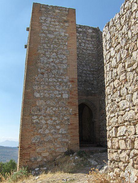 Vestiges de la muraille d'Archidona.