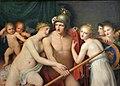 Musée d'art et d'archéologie du Périgord - École de Jacques-Louis David - Mars désarmé par les Grâces.jpg
