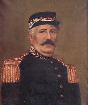 Antônio de Sousa Neto - Portrait of Antônio de Sousa Neto by Azevedo Dutra. Júlio de Castilhos Museum