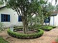 Museu Casa de Portinari - Inscrição no Jardim DIO (Deus em Italiano), no fundo da casa - panoramio.jpg