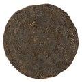 Mynt, så kallad paduan, förfalskad på 1500-talet - Skoklosters slott - 100242.tif