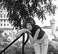 Női portré, 1969. Fortepan 85430.jpg