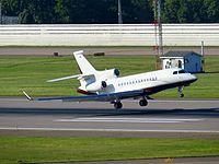 N577CF - FA7X - Kyrgyz International Airlines