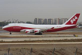 747 Supertanker - Global 747-400 Supertanker, N744ST