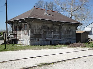 Cockeysville, Maryland - The former Cockeysville freight station in 2011