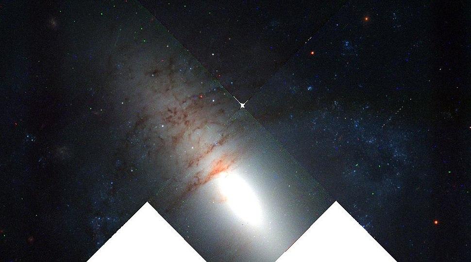 NGC 2685 Detailed