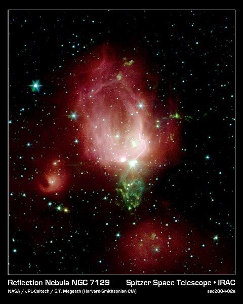 NGC 7129 y otras maravillas : Blog de Emilio Silvera V.